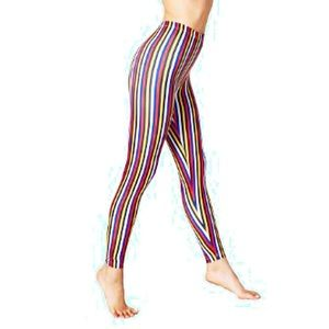 American Apparel Pants - AA Nylon Stripe Leggings